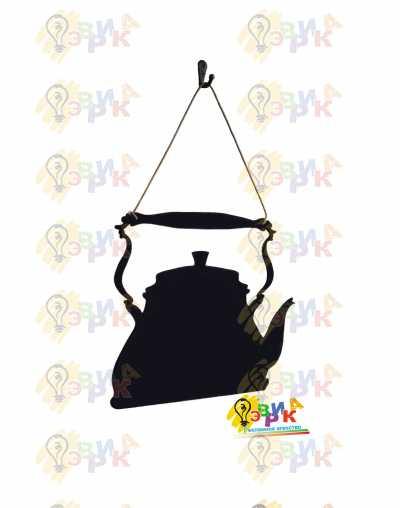 Фото: Меловая доска премиум Заварник на канате