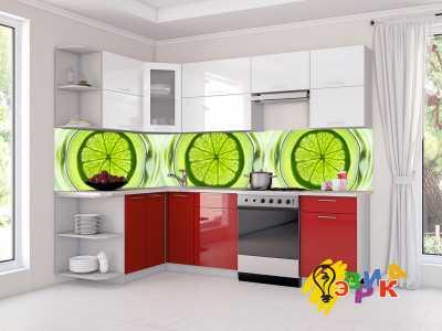 Фото: Кухонные скинали Лайм