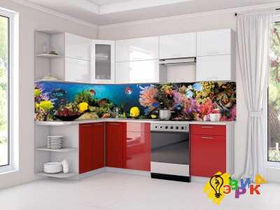 Фото: Кухонные скинали Рыбки