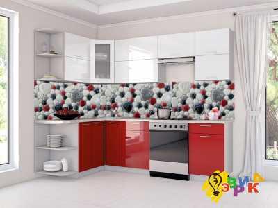 Фото: Кухонные скинали Камни 3Д