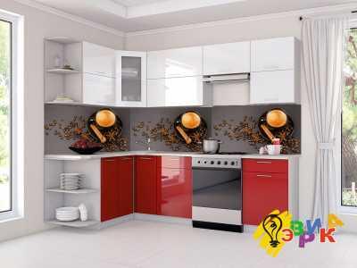Фото: Кухонные скинали Кофейные мотивы