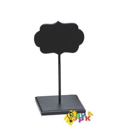 Фото: Грифельные таблички на черной подставке прованс