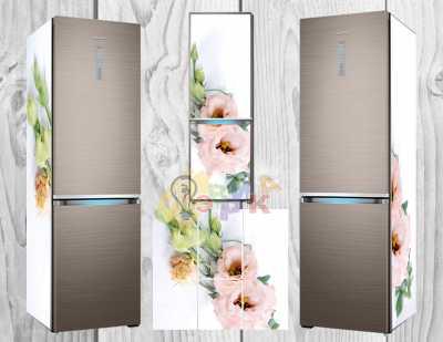 Фото: Дизайнерские наклейки на холодильник Нежность