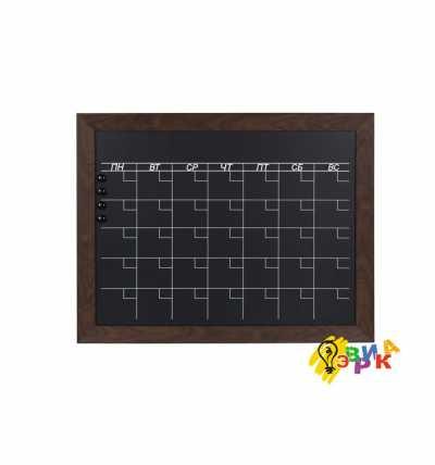 Фото: Календарь магнитно меловой в раме А1 формата