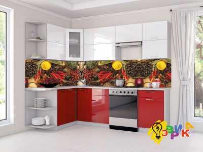 Фото: Кухонные скинали Специи микс
