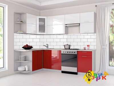 Фото: Кухонные скинали Кирпичики