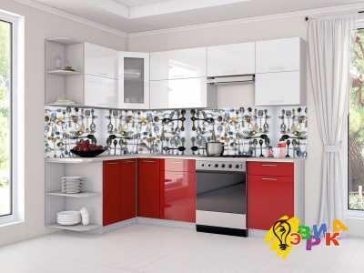 Фото: Кухонные скинали Ложки