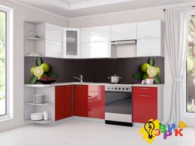 Фото: Кухонные скинали Дольки лайма