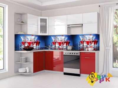 Фото: Кухонные скинали Коктейли