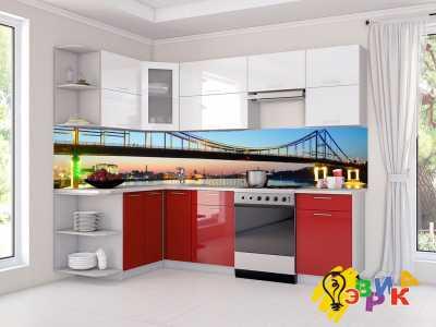 Фото: Кухонные скинали Мосты
