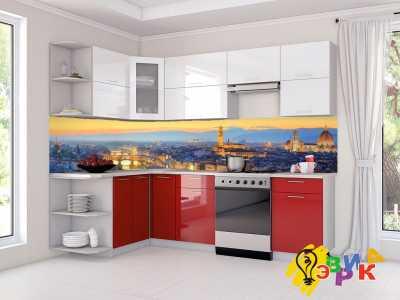 Фото: Кухонные скинали Город
