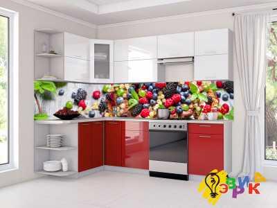 Фото: Кухонные скинали Ягодки микс