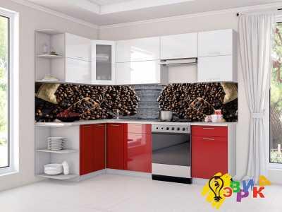 Фото: Кухонные скинали Кофе