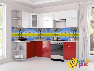 Фото: Кухонные скинали Поле