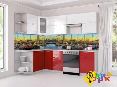 Фото: Кухонные скинали Корабли
