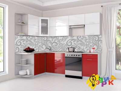 Фото: Кухонные скинали Барокко 3Д