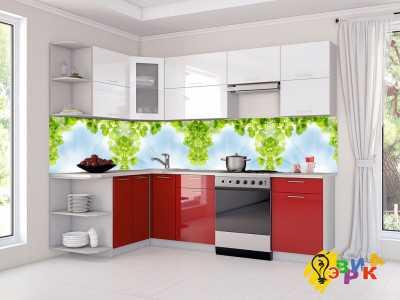 Фото: Кухонные скинали Весенний бриз