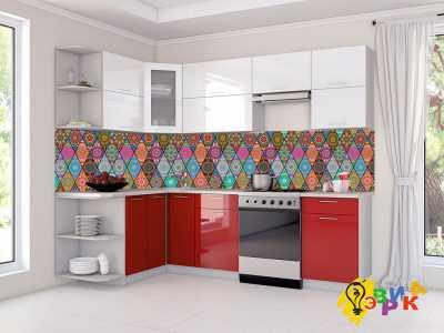 Фото: Кухонные скинали Арт