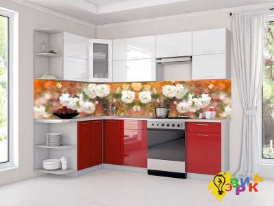 Фото: Кухонные скинали Живопись