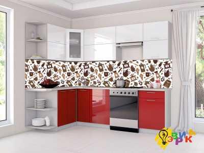 Фото: Кухонные скинали Кофейное ассорти