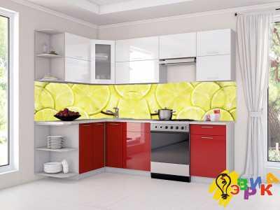 Фото: Кухонные скинали Цитрус