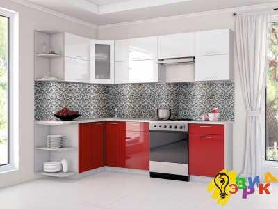 Фото: Кухонные скинали Металик