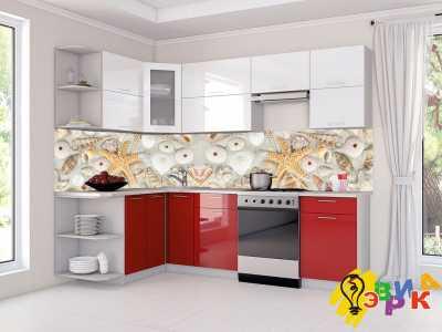 Фото: Кухонные скинали Ракушки