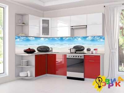 Фото: Кухонные скинали Камушки спа