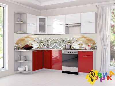 Фото: Кухонные скинали Жемчуг