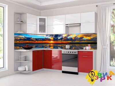 Фото: Кухонные скинали Восход