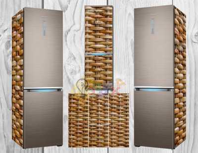 Фото: Дизайнерские наклейки на холодильник Лоза