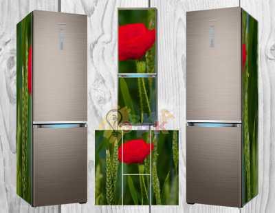 Фото: Дизайнерские наклейки на холодильник Мак