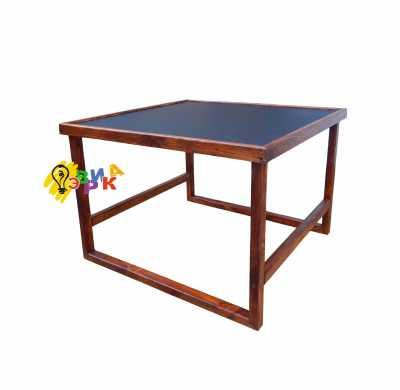 Фото: Детский столик меловой премиум 60Х60 см