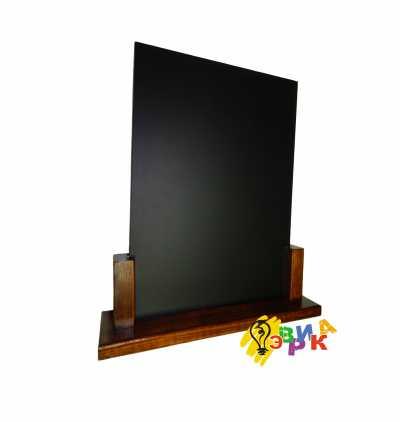 Фото: Меловые таблички настольные Модерн формата А3
