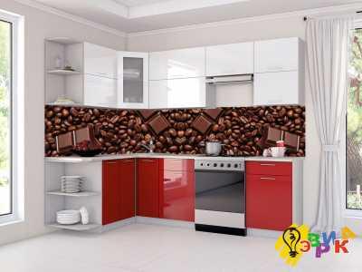 Фото: Фартук на кухню из пластика Кофейные зерна и шоколад