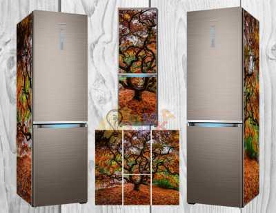 Фото: Дизайнерские наклейки на холодильник Мудрость
