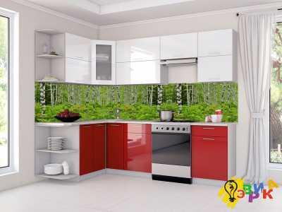 Фото: Фартук для кухни из пластика Березы