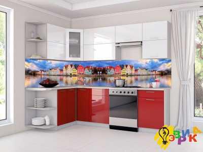 Фото: Фартук для кухни из пластика Панорама