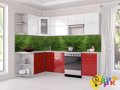 Фото: Фартук для кухни из пластика Паутинка