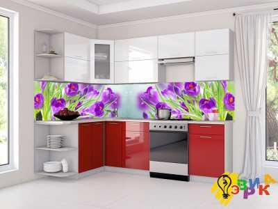 Фото: Фартук кухонный из пластика Весна