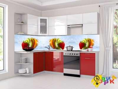 Фото: Фартук для кухни из пластика Здоровье