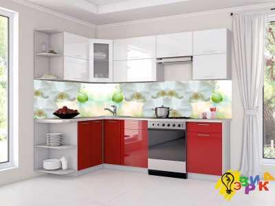 Фото: Фартук для кухни из пластика Белая орхидея