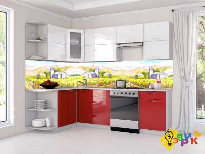 Фото: Фартук для кухни из пластика Живопись