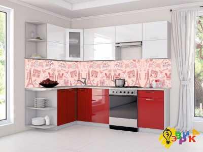 Фото: Скинали для кухни из пластика Романтик