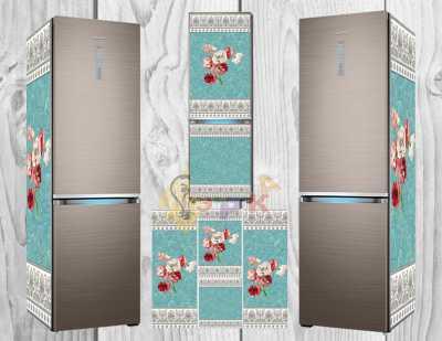 Фото: Дизайнерские наклейки на холодильник Ренесанс