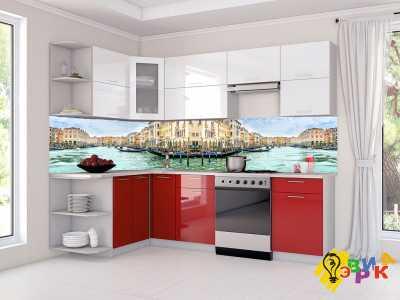 Фото: Фартук для кухни из пластика Венеция