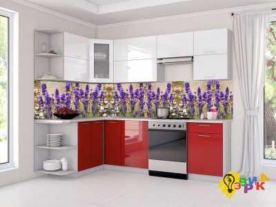 Фото: Фартук для кухни из пластика Лавандовое поле