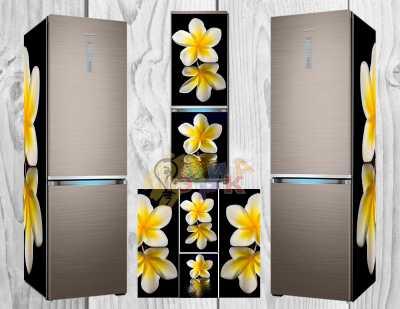 Фото: Дизайнерские наклейки на холодильник Чампа