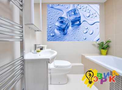 Фото: Виниловые наклейки в ванную премиум Капля