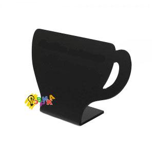 Фото: Ценник для мелового маркера чашка
